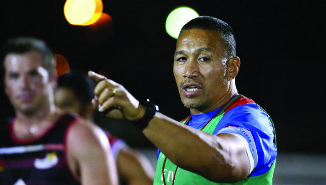 UAE Coach Apollo Perelini.