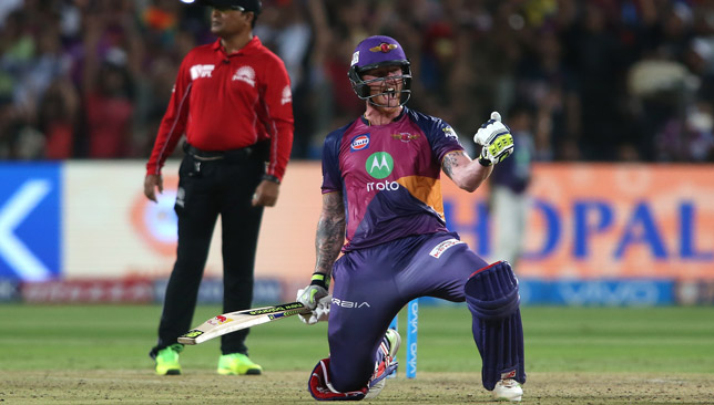 Stokes made a stunning century against Gujarat.