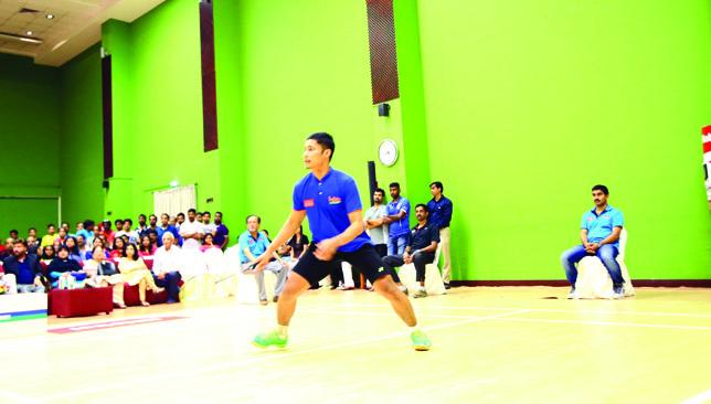 Imam Adi in action.