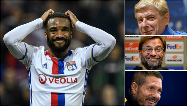 Prime Premier League target Alexandre Lacazette pulls out filthy touch to score