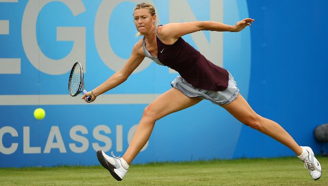 Sharapova has won Birmingham twice.
