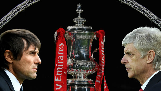 Conte reveals who will lift the FA Cup