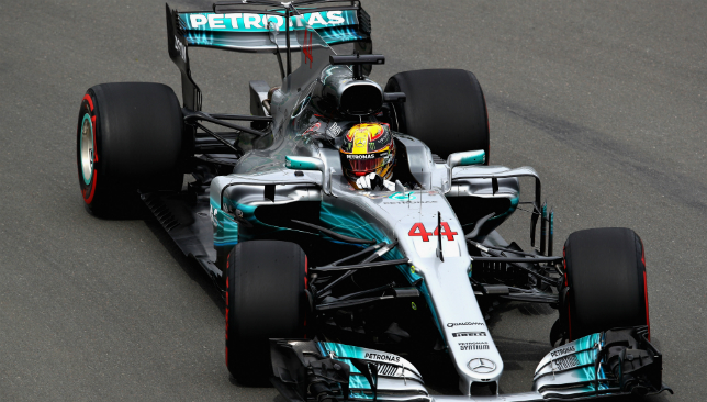 A positive first drive for Hamilton in Canada.