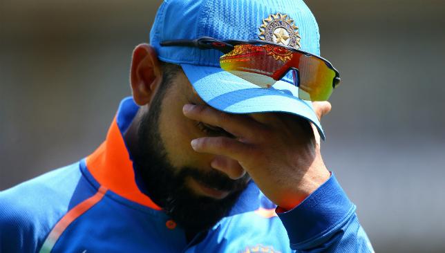 Downbeat: Skipper Virat Kohli at the Oval.