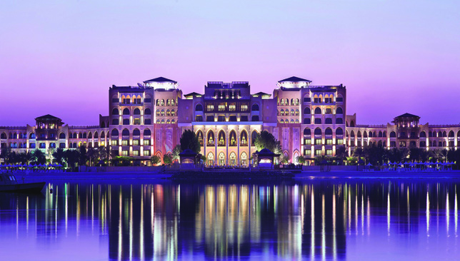 Abu Dhabi's Shangri-La Hotel, Qaryat Al Beri, is a five-star resort.