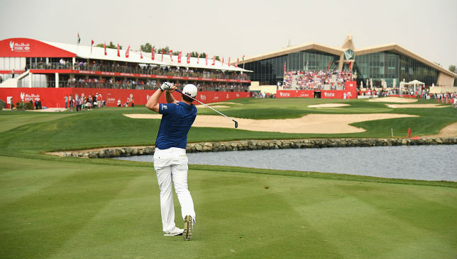 Abu Dhabi Golf Club is home to the Abu Dhabi HSBC Championship.
