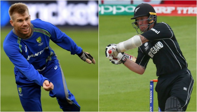 Champions Trophy 2017: rain halts New Zealand charge against Australia