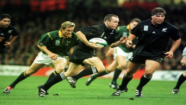 Cullen only played for the All Blacks for six years