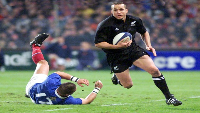Christian Cullen scored 46 tries in 58 Tests for New Zealand