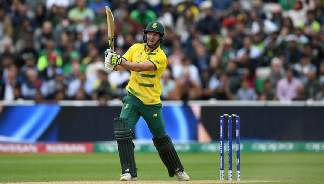 Miller's unbeaten 75 helped South Africa post a fighting total [Getty Images]