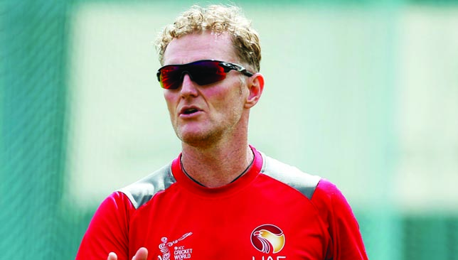 UAE coach: Dougie Brown.