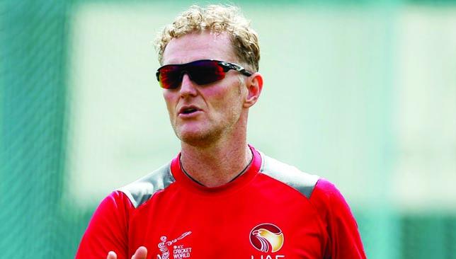 UAE coach: Dougie Brown.