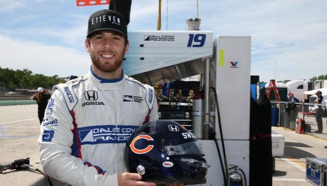 Jones: Enjoyed stellar rookie campaign in IndyCar.