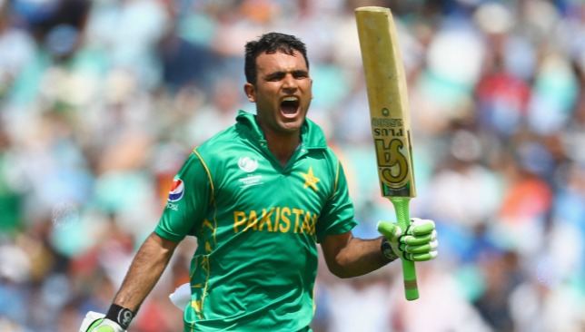 It was a first one-day international hundred for Fakhar Zaman.