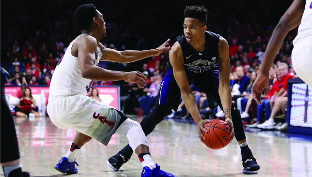 On the attack: Markelle Fultz. Picture: Getty Images.