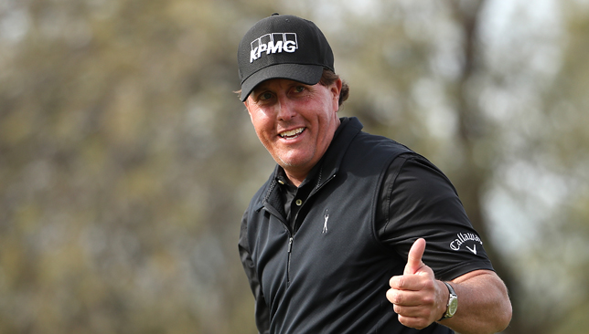 Phil Mickelson.