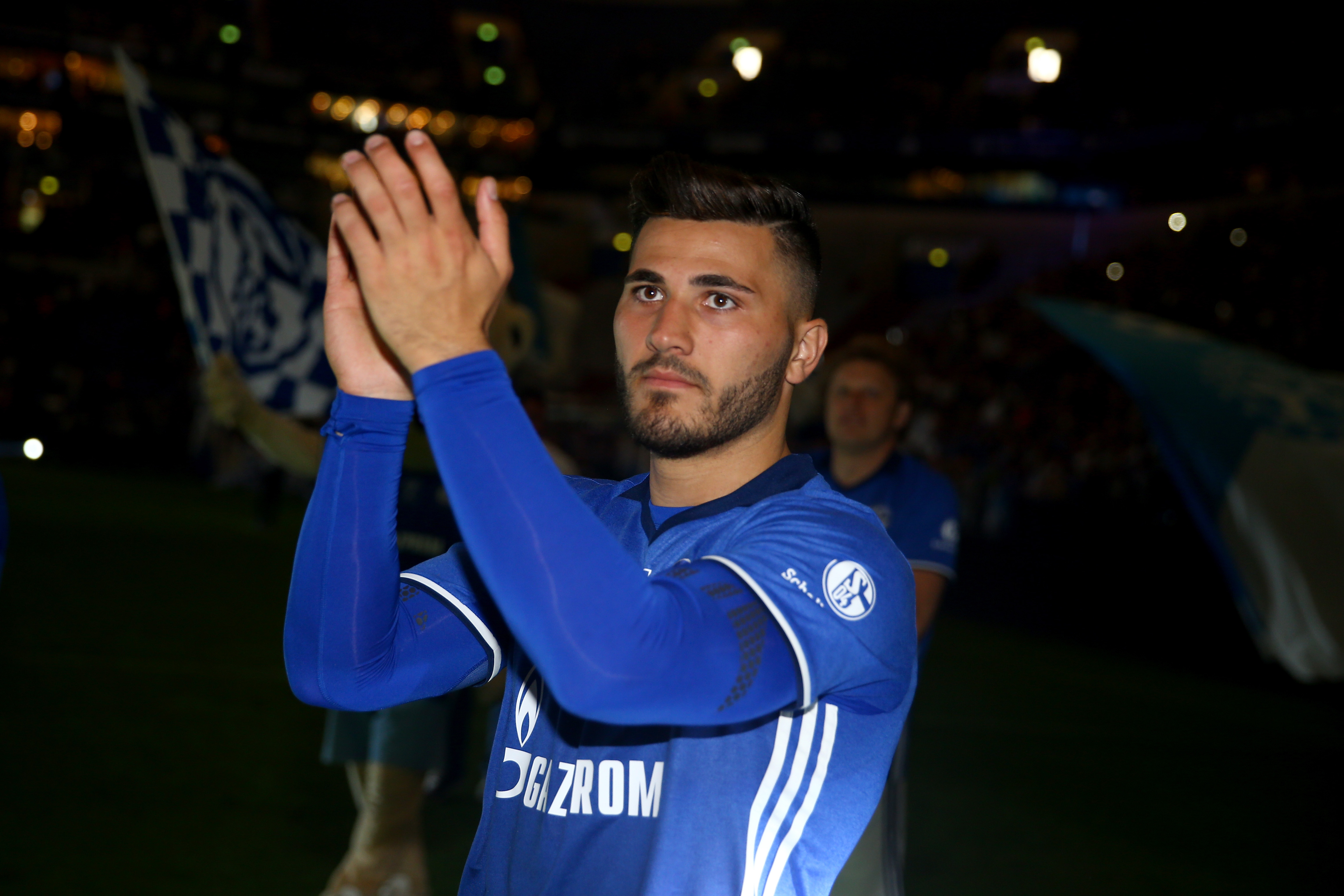 GELSENKIRCHEN, GERMANY - MAY 21: Sead Kolasinac of Schalke is seen after the 20 years of Eurofighter match between Eurofighter and Friends and Euro All Stars at Veltins Arena on May 21, 2017 in Gelsenkirchen, Germany. (Photo by Christof Koepsel/Bongarts/Getty Images)