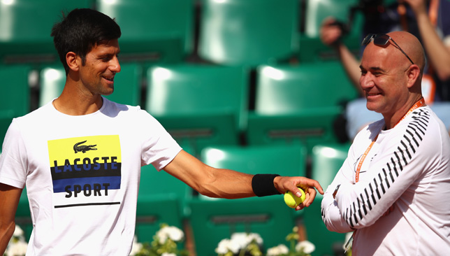 Inspirational Djokovic key to my tennis return - Agassi