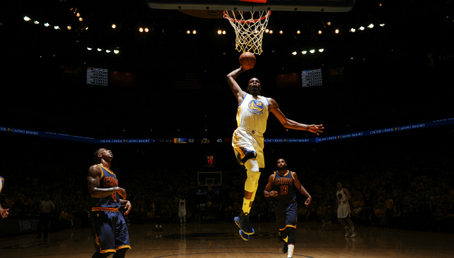 Leading light: Kevin Durant. Picture: Getty Images.