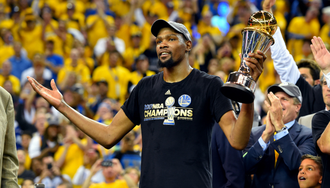 Golden State Warriors Get The Best Of The NBA's First Finals Trilogy