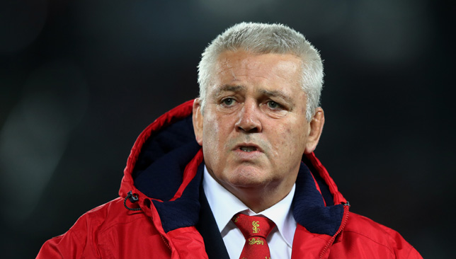 Wales coach Warren Gatland is in line to lead the Lions for a third-straight tour.
