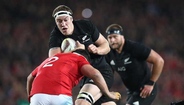 Brodie Retallick was outstanding for the All Blacks.
