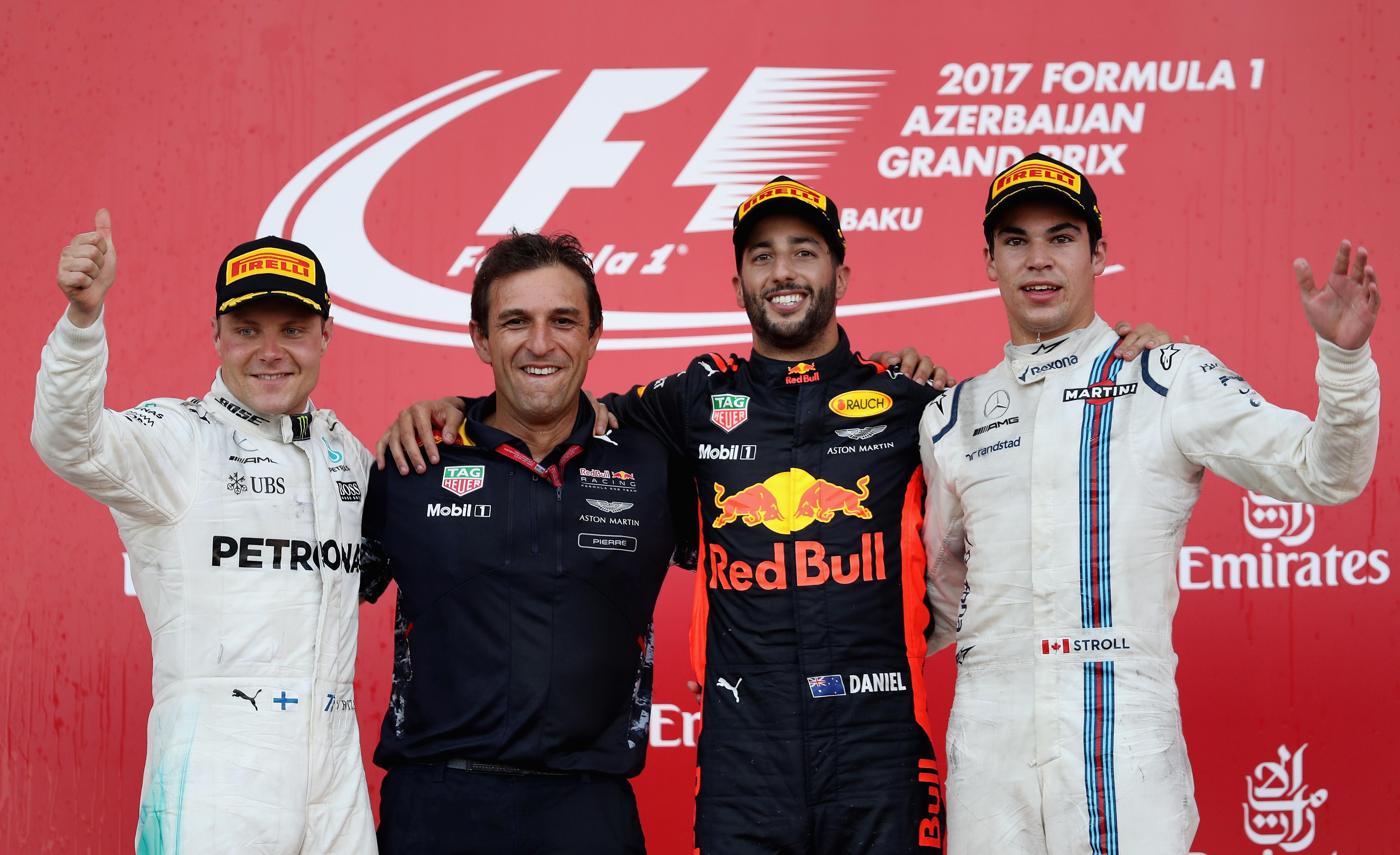 From Lewis Hamilton V Sebastian Vettel To Ayrton Senna Alain Prost Expects Indian Circuit Be Secondfastest F1 Track Valtteri Bottas Daniel Ricciardo And Lance Stroll On The Podium After Race