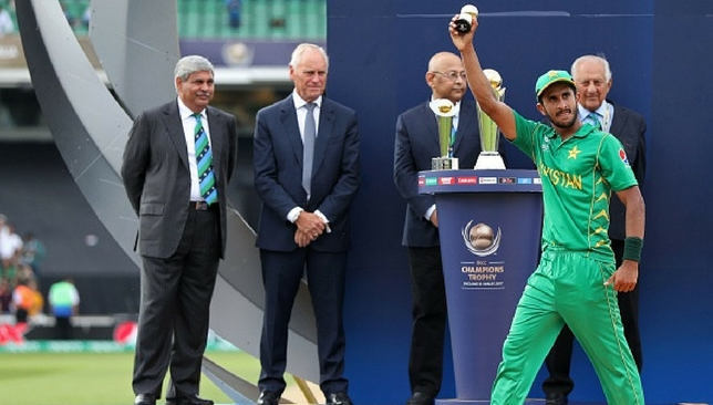 Hasan Ali with the Golden Ball trophy [Getty Images]