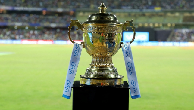 The IPL trophy [Sportzpics].
