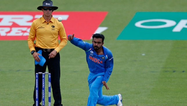 Kedar Jadhav picked up three wickets at the tournament [Getty Images]