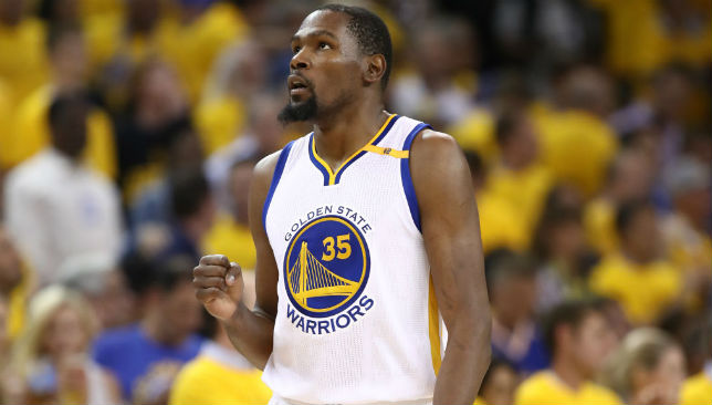 08b6982ba5c3 Kevin Durant to stay with Golden State Warriors while Jerry West joins Los  Angeles Clippers