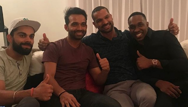 Picture credits: Dwayne Bravo's Instagram.