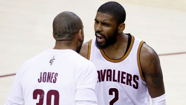 Kyrie Irving (right)