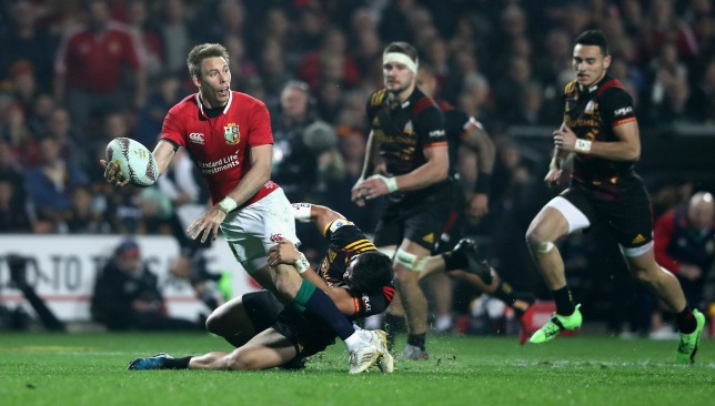 Jeremy Guscott is excited by Liam Williams' inclusion against the All Blacks