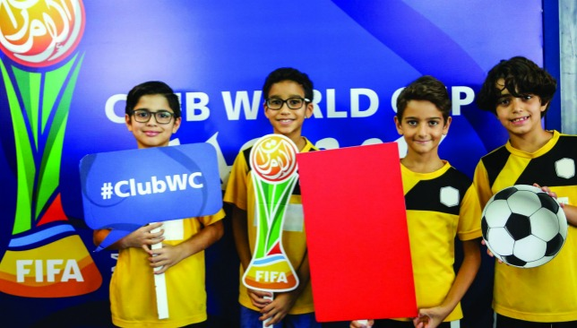 Young supporters will have plenty to entertain themselves with in Abu Dhabi.