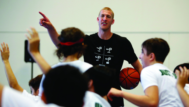Man of the people: Mason Plumlee. Pic by Chris Whiteoak/whiteoakpictures