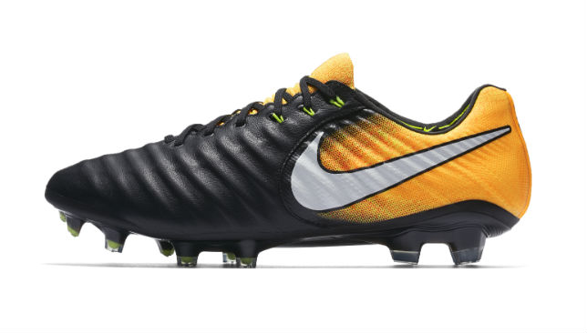 sale retailer 5bc9e 5a29f Nike unveiled their latest football boots on Wednesday, the Tiempo Legend 7.
