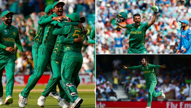 A famous win for Pakistan at the Oval.