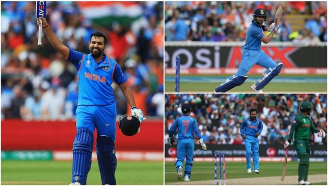 India will meet Pakistan in Sunday's final.