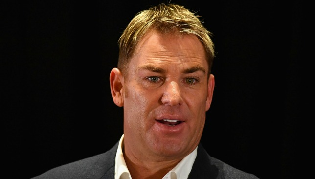 Strong words: Shane Warne