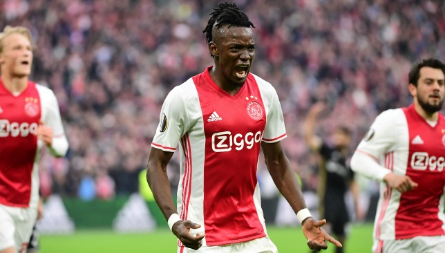 Chelsea star Bertrand Traore spent last season on loan at Ajax.