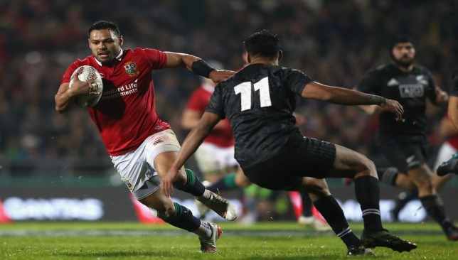 Ben Te'o has stood out for the Lions so far