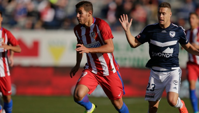 Theo Hernandez: The Atleti defender is set for Real.