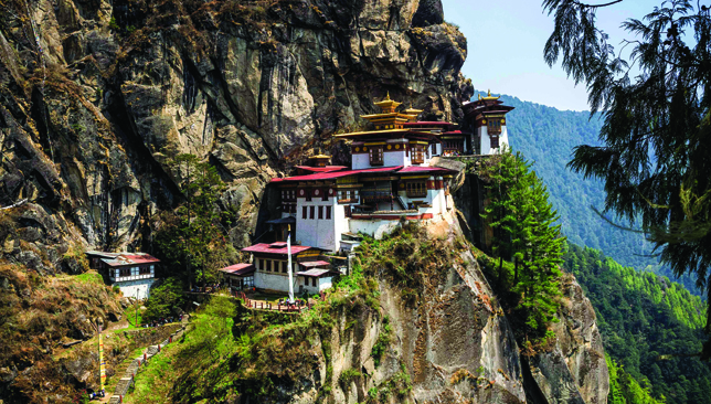 Untapped beauty: Bhutan's culture and tradition has been retained to this day.