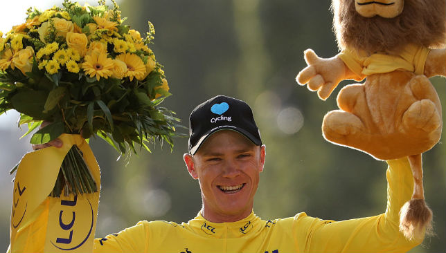 Tour de France 2016's winner Great Britain's Christopher Froome
