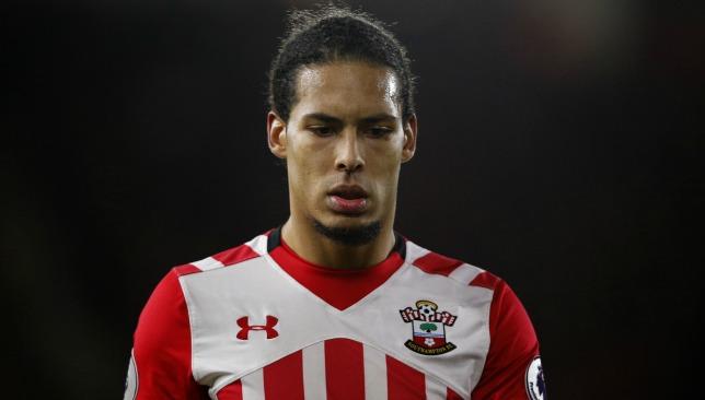 Van Djik: Will he stay at St Mary's Stadium?