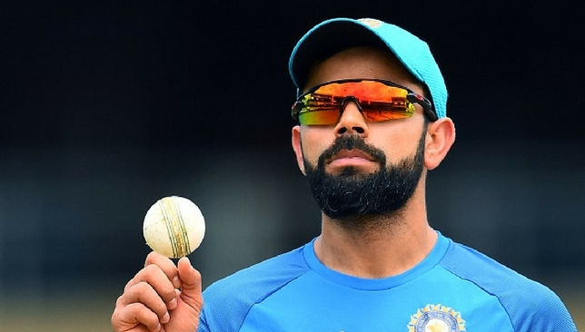 Virat Kohli during a practice session on Thursday [Getty Images]