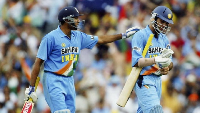 Laxman and Yuvraj against Australia [Getty Images]