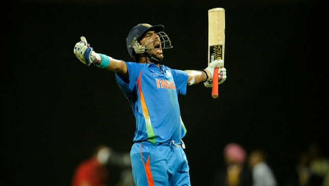 Yuvraj Singh was brilliant with bat and ball in the 2011 World Cup