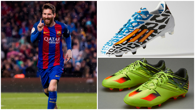 8ba74dc4bd72 Barcelona star Lionel Messi's 10 best boots down through the years - Photos  - Sport360